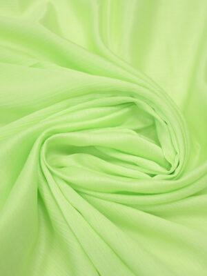 Крепон хлопок яркий салатовый (3611) - Фото 17