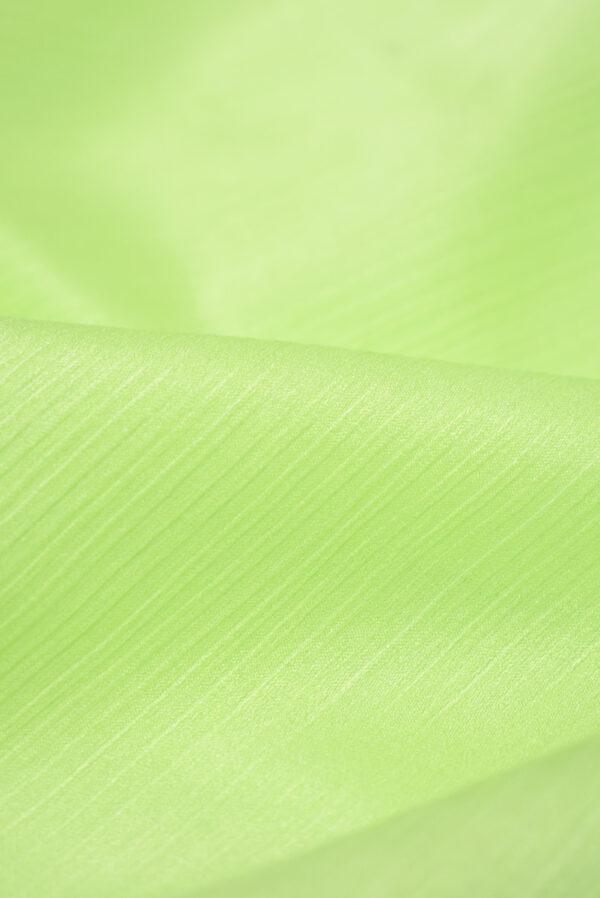 Крепон хлопок яркий салатовый (3611) - Фото 9