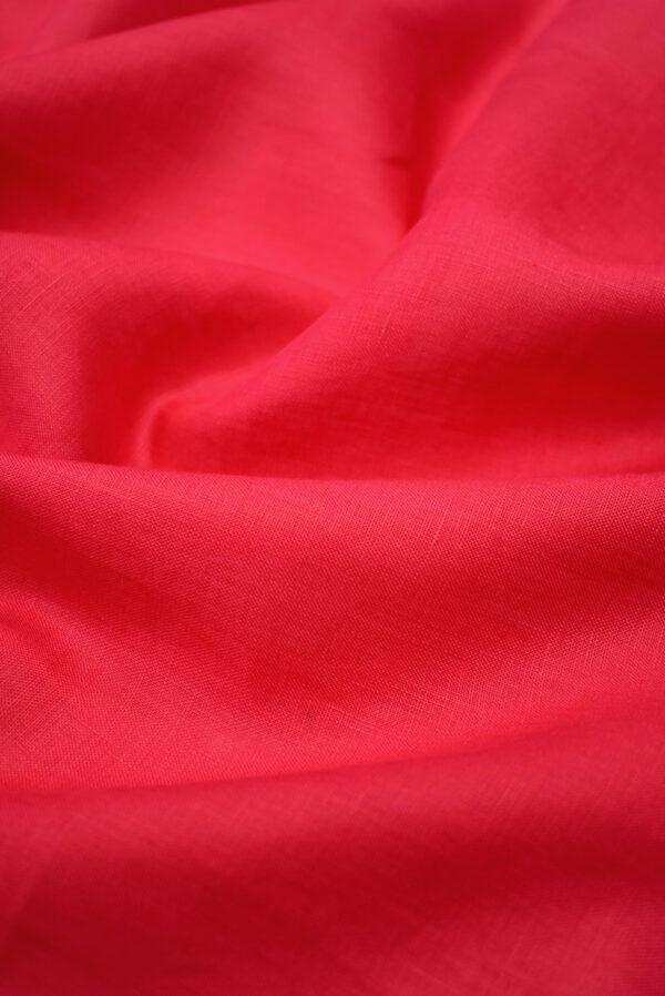 Лен яркий малиновый (3888) - Фото 6