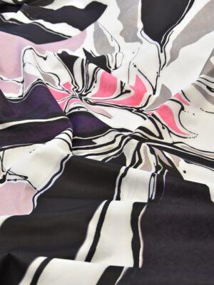 Неопрен купон акварель абстракция цветы (3894) - Фото 13