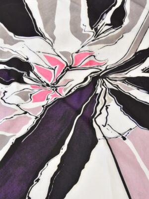 Неопрен купон акварель абстракция цветы (3894) - Фото 14