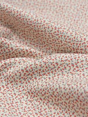 Жаккард в красно-бежевых тонах (3915) - Фото 18