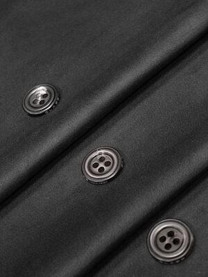 Экозамша стрейч черная (4290) - Фото 17