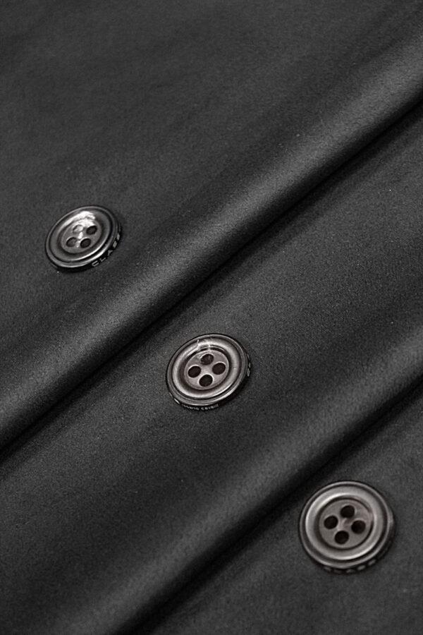 Экозамша стрейч черная (4290) - Фото 7