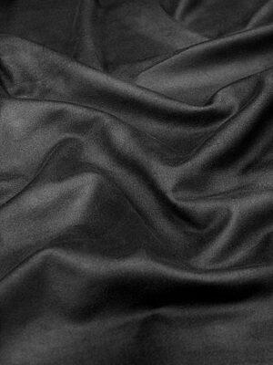Экозамша стрейч черная (4290) - Фото 16
