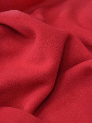 Футер трикотаж стрейч мягкий фактурный цвет красный (4357) - Фото 14