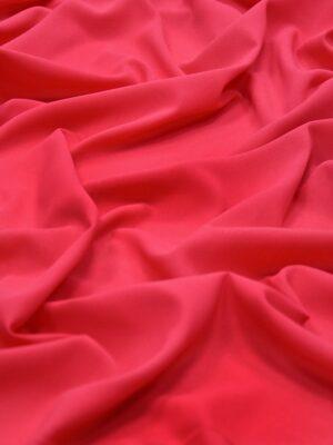 Крепдешин шелк стрейч цвет малиновый (4362) - Фото 15