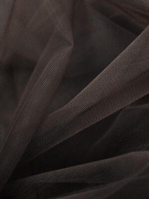 Фатин сетка тонкая легкая мягкая цвет коричневый (4413) - Фото 9