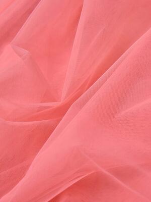 Фатин сетка тонкая легкая мягкая цвет розовый (4415) - Фото 11
