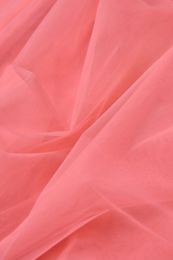 Фатин сетка тонкая легкая мягкая цвет розовый (4415) - Фото 7