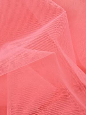 Фатин сетка тонкая легкая мягкая цвет розовый (4415) - Фото 10