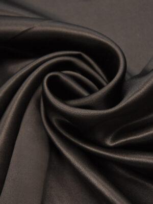 Шелк атласный цвет горький шоколад (4417) - Фото 10