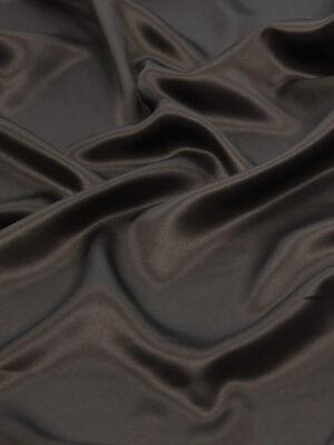 Шелк атласный цвет горький шоколад (4417) - Фото 9