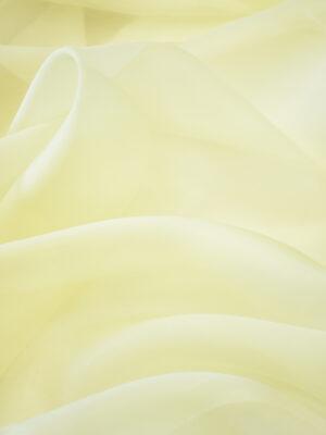 Органза шелк оттенок ваниль (4421) - Фото 10