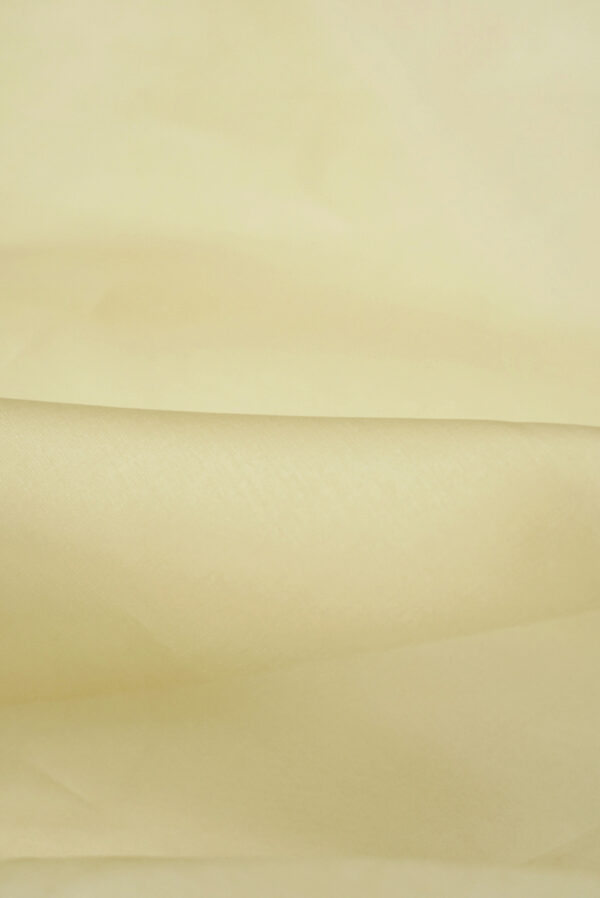 Органза шелк бежевый оттенок (4424) - Фото 9