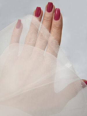 Органза белая тонкая плательная (4425) - Фото 16