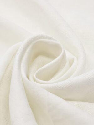 Лен с вышивкой молочный (4514) - Фото 11