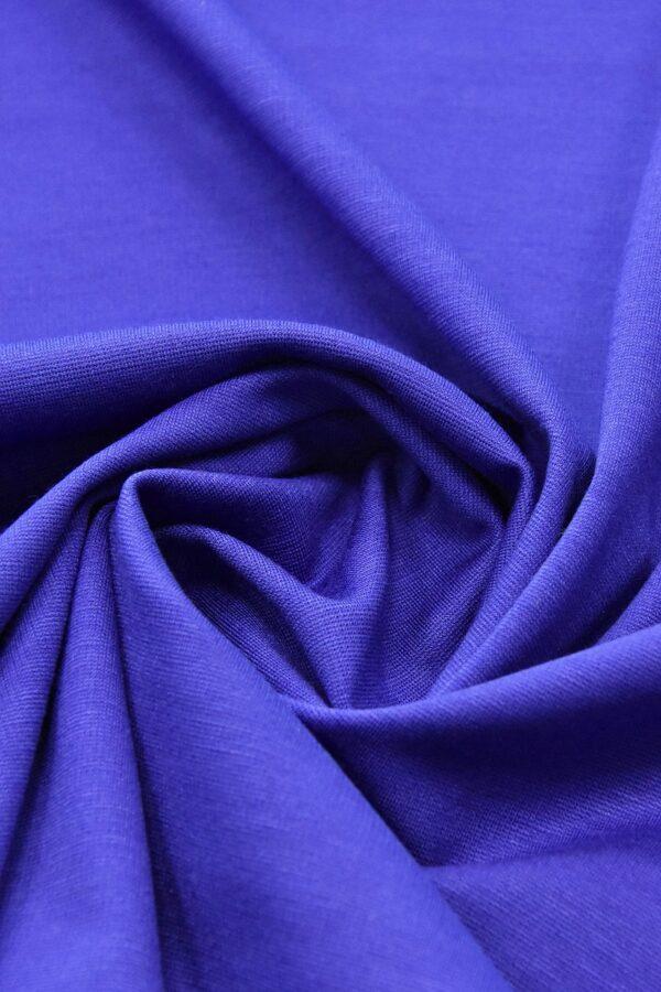 Джерси трикотаж punto milano синий электрик(4522) - Фото 7
