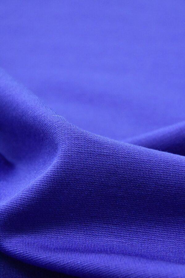 Джерси трикотаж punto milano синий электрик(4522) - Фото 9