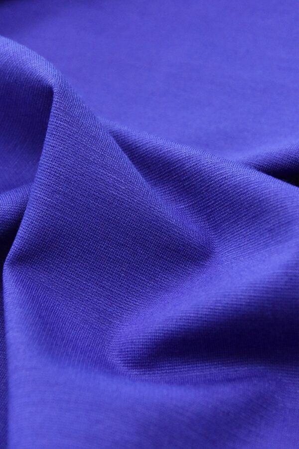 Джерси трикотаж punto milano синий электрик(4522) - Фото 6