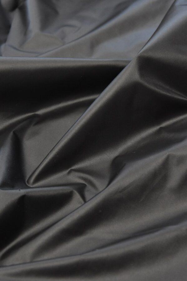 Плащевая ткань темно-графитовая матовая (4575) - Фото 6