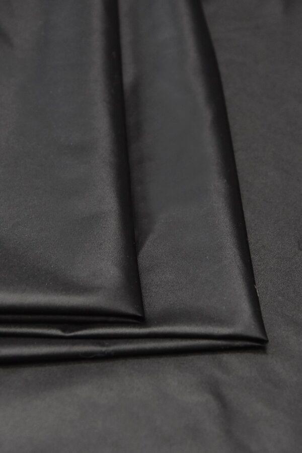 Плащевая ткань темно-графитовая матовая (4575) - Фото 8