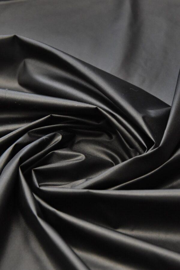 Плащевая ткань темно-графитовая матовая (4575) - Фото 7