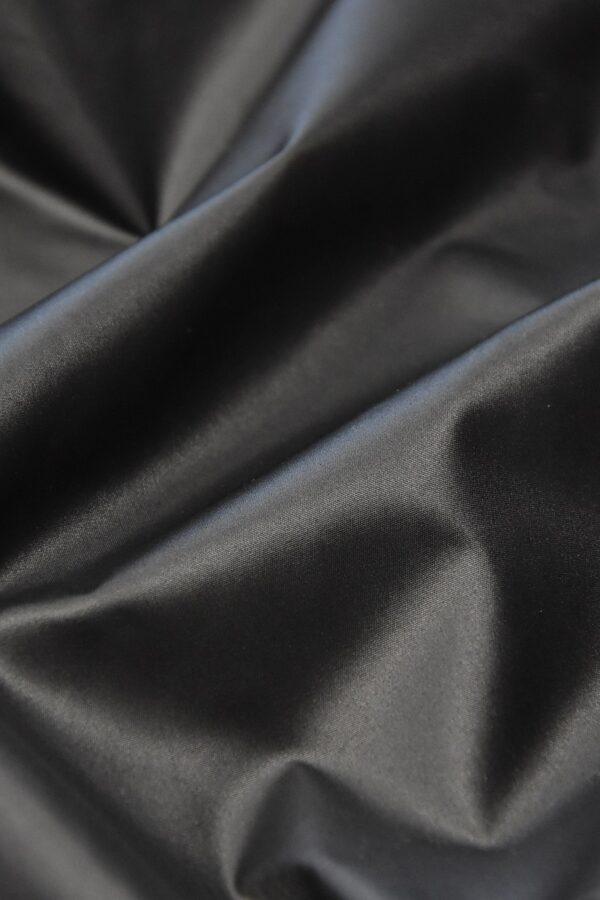 Плащевая ткань темно-графитовая матовая (4575) - Фото 9