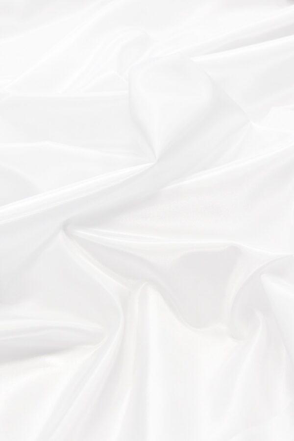 Тафта белая с блеском (4667) - Фото 6