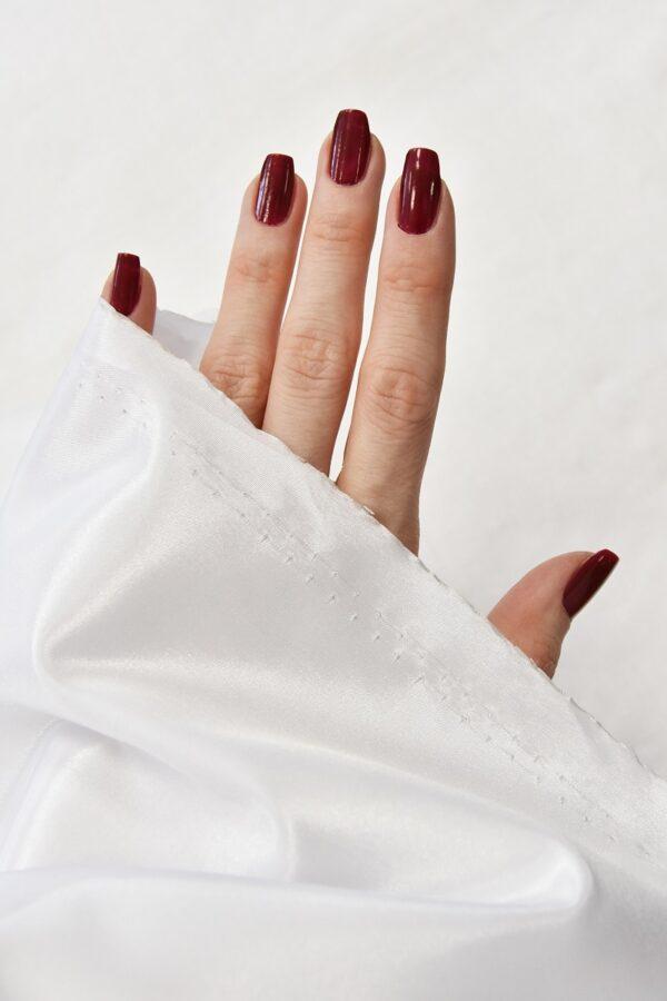 Тафта белая с блеском (4667) - Фото 10