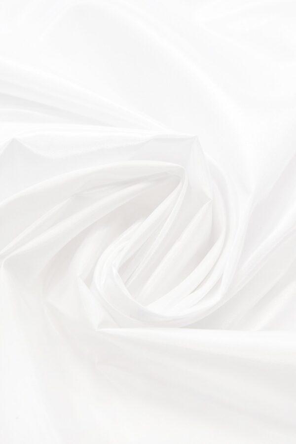 Тафта белая с блеском (4667) - Фото 7