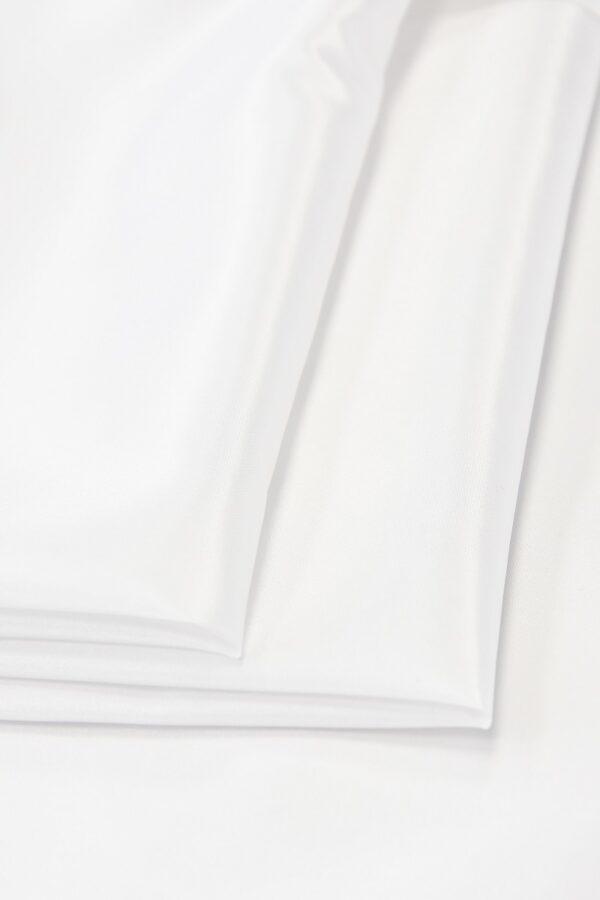 Тафта белая с блеском (4667) - Фото 8