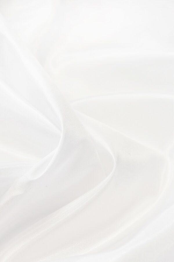 Тафта белая с блеском (4667) - Фото 9