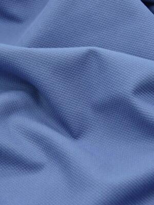 Хлопок пике серо-голубой (4673) - Фото 15