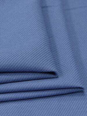 Хлопок пике серо-голубой (4673) - Фото 16