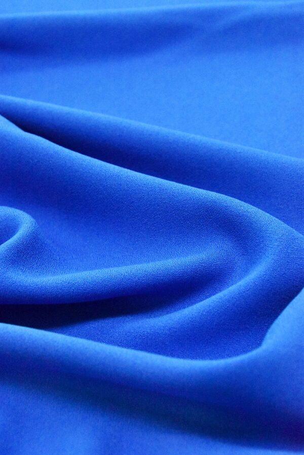 Креп вискоза синий электрик (4847) - Фото 6