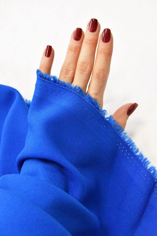 Креп вискоза синий электрик (4847) - Фото 10