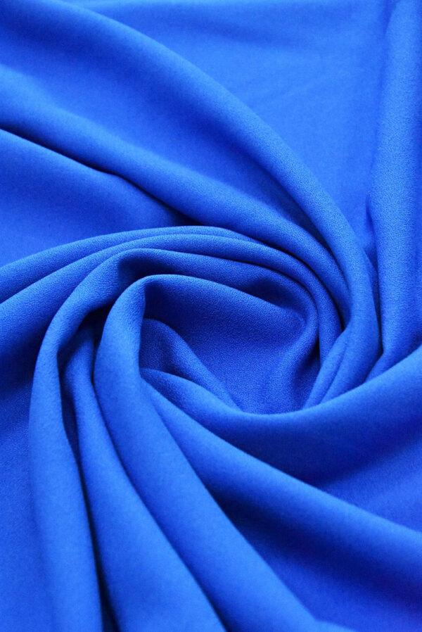 Креп вискоза синий электрик (4847) - Фото 7