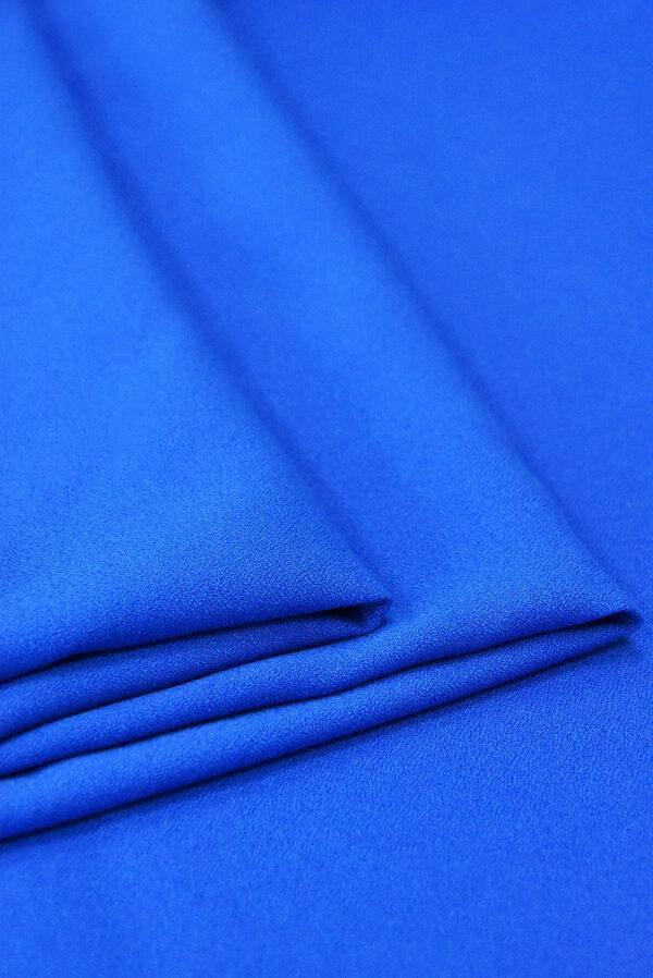 Креп вискоза синий электрик (4847) - Фото 8