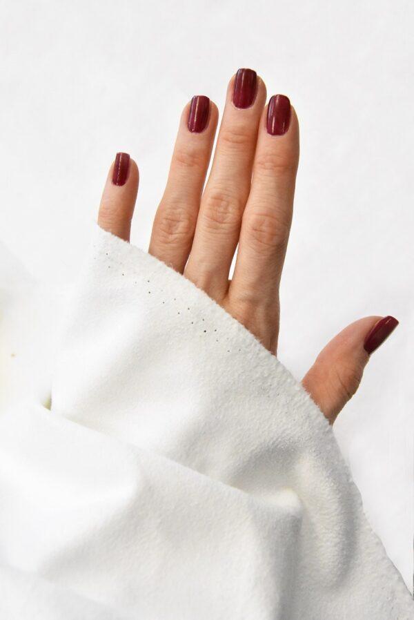 Экозамша стрейч белая (4851) - Фото 9