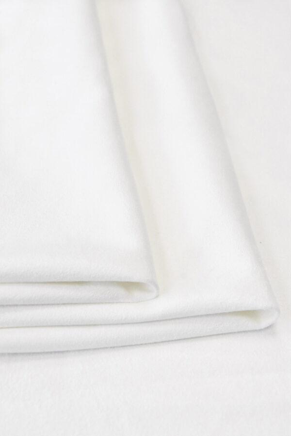 Экозамша стрейч белая (4851) - Фото 7