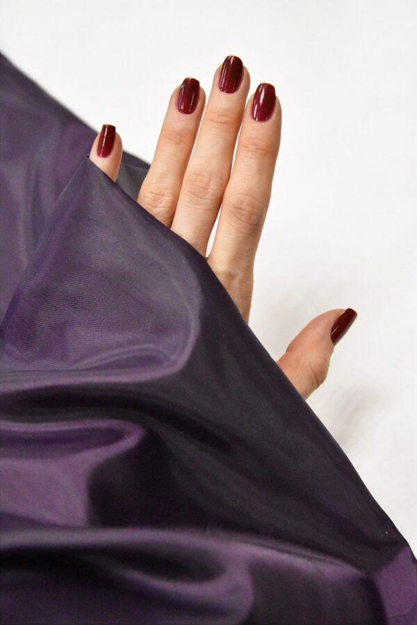 Подкладочная ткань фиолетового оттенка (4935) - Фото 9