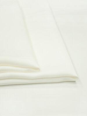Креп вискоза молочно-белый оттенок (4991) - Фото 12
