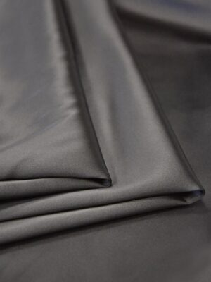 Атлас дюшес стрейч серо-коричневый (4997) - Фото 14
