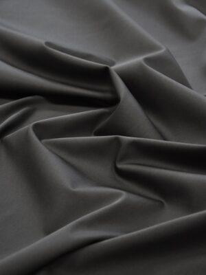 Сатин стрейч плотный темно-серый (5103) - Фото 13