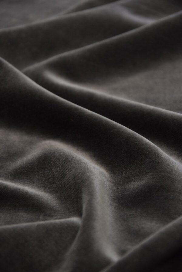 Бархат хлопковый дымчатого оттенка (5256) - Фото 11
