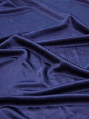 Трикотаж масло темно-синий с блеском (5280) - Фото 11