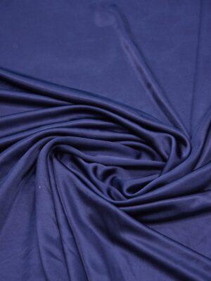 Трикотаж масло темно-синий с блеском (5280) - Фото 12