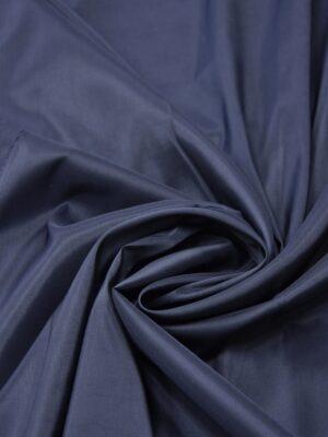 Подкладочная вискоза стрейч темно-синего оттенка (5362) - Фото 17