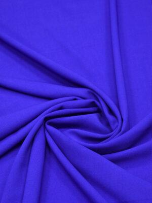 Креп шерстяной синий электрик (5406) - Фото 13